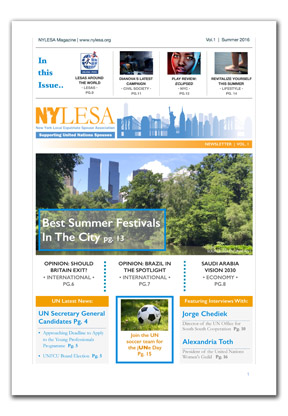 Vol.1 (Summer Edition) of the new Nylesa Magazine is now available!