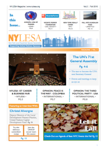 Vol.2 (Fall Edition) of the new Nylesa Magazine is now available!