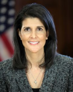 Who is Nikki Haley, the new US Ambassador to the UN?