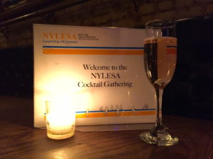 Welcome to NYLESA Cocktail Gathering on September 21