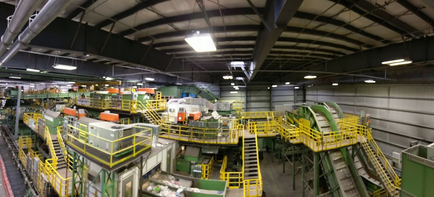 Touring Brooklyn's Waste Recycling Facility